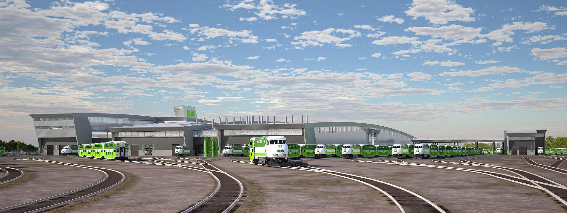 GO Transit: East Rail Maintenance Facilities - Strasman Architects Inc.
