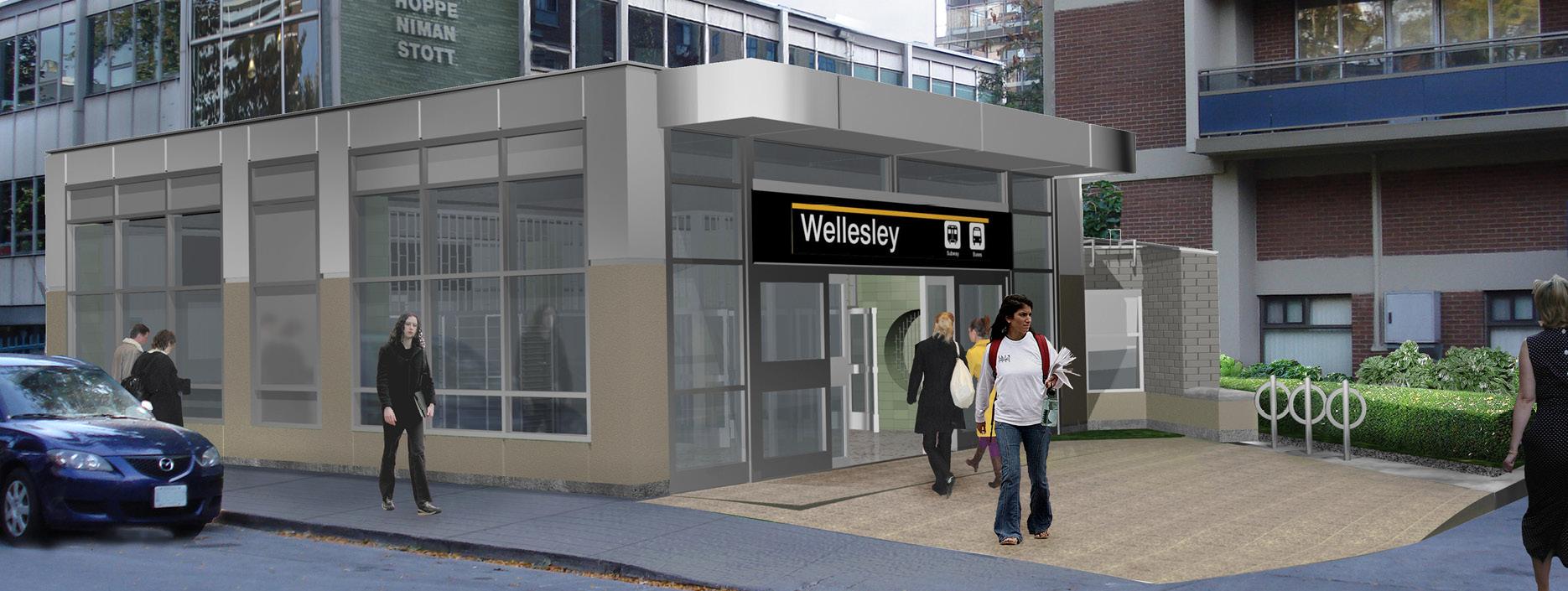 Ttc Wellesley Station Second Exit Program Strasman