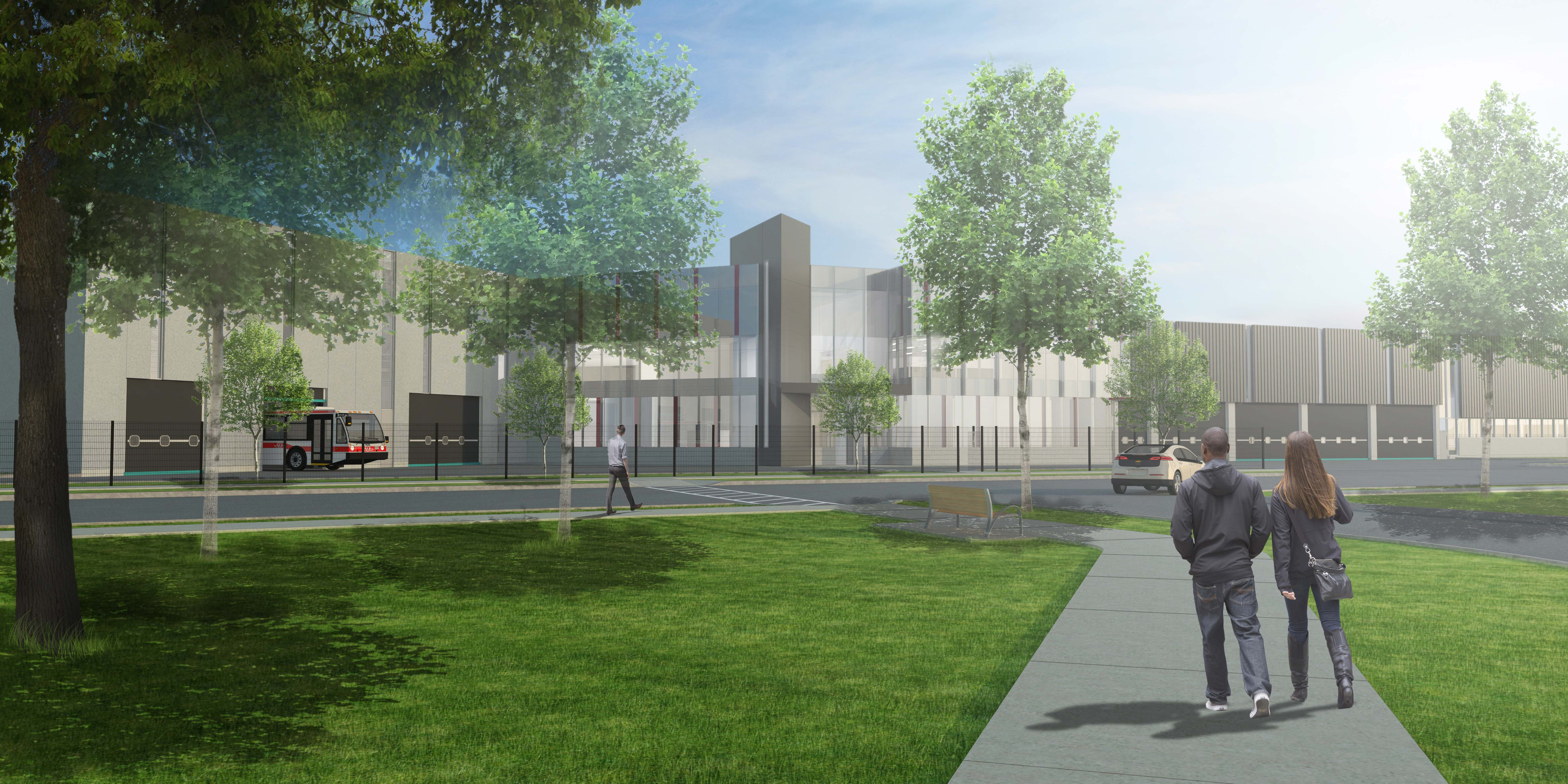 Ttc mcnicoll bus garage design build – strasman architects inc.