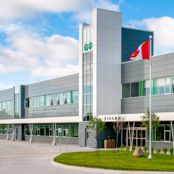 GO Transit East Region (Oshawa) Bus Facility
