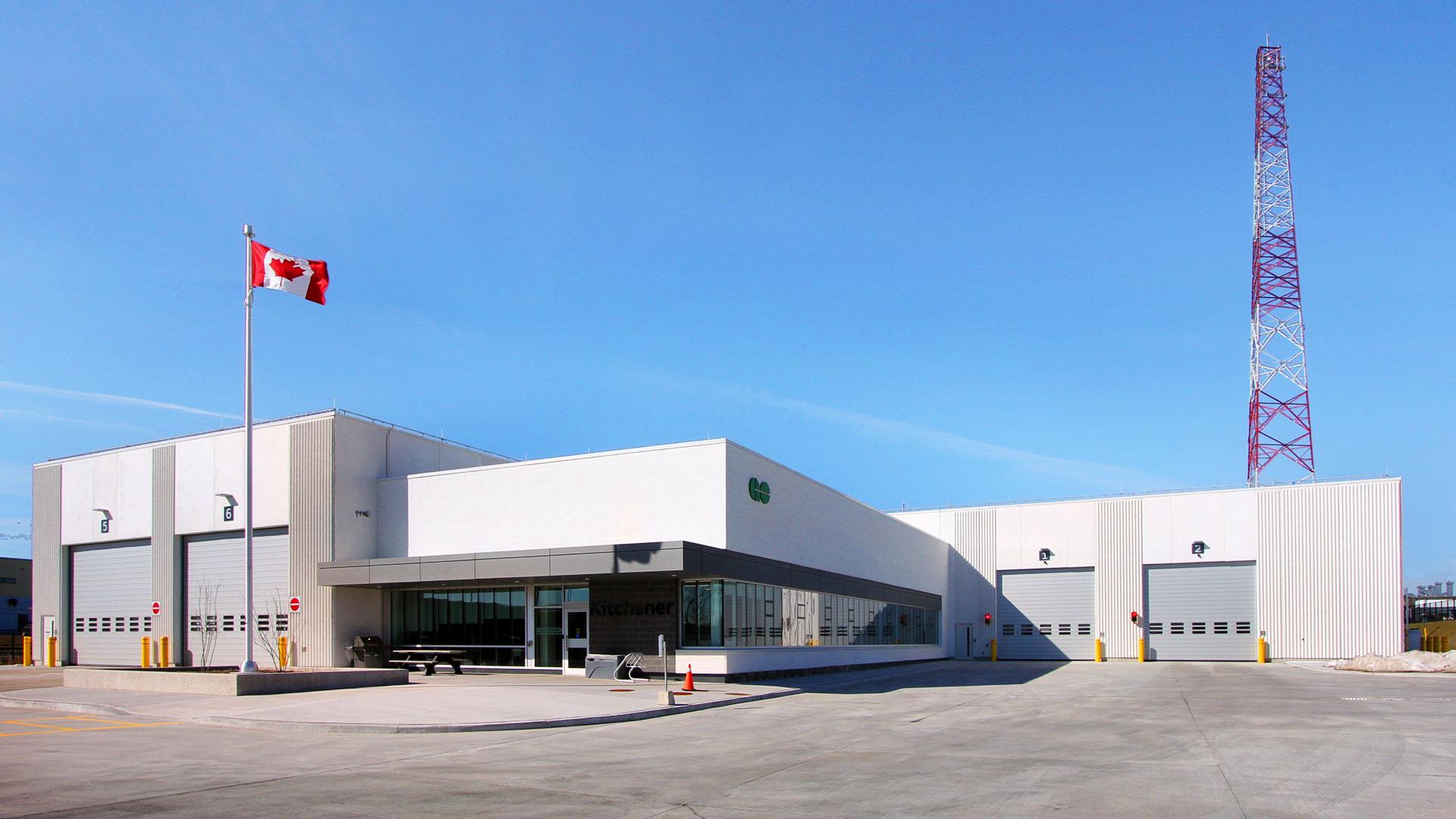 Exterior photo of the facility