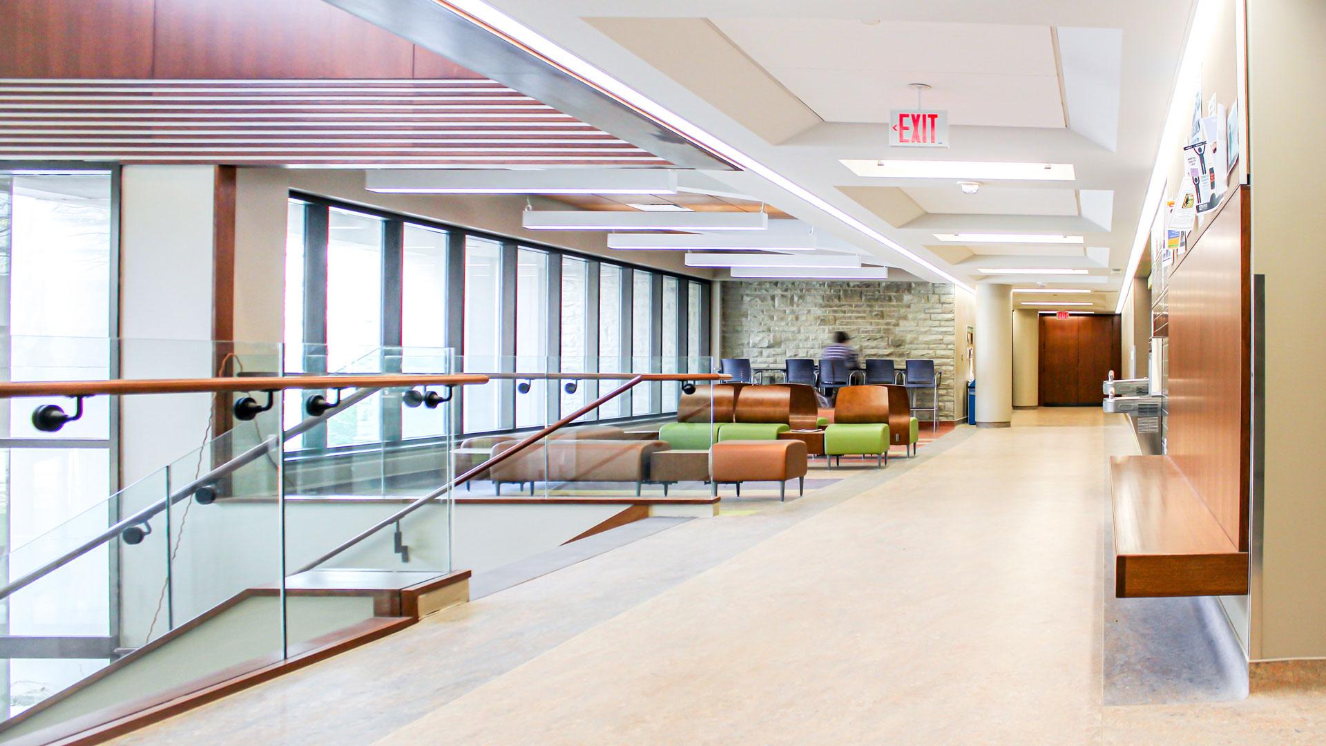 Interior photo of the common area